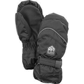 Hestra Primaloft Manoplas Niños, black/earth